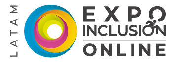 logo de expo inclusion a color